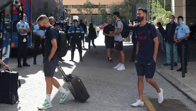 Jordi Alpha y Sergio Baskets