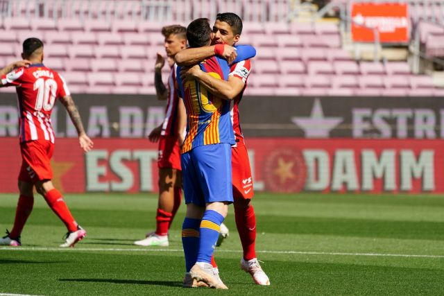 """Messi on Suarez leaving Barca; """"I miss him."""""""