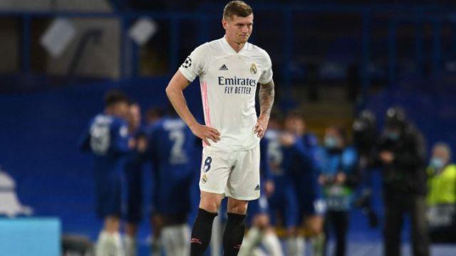 Toni Kroos del Real Madrid