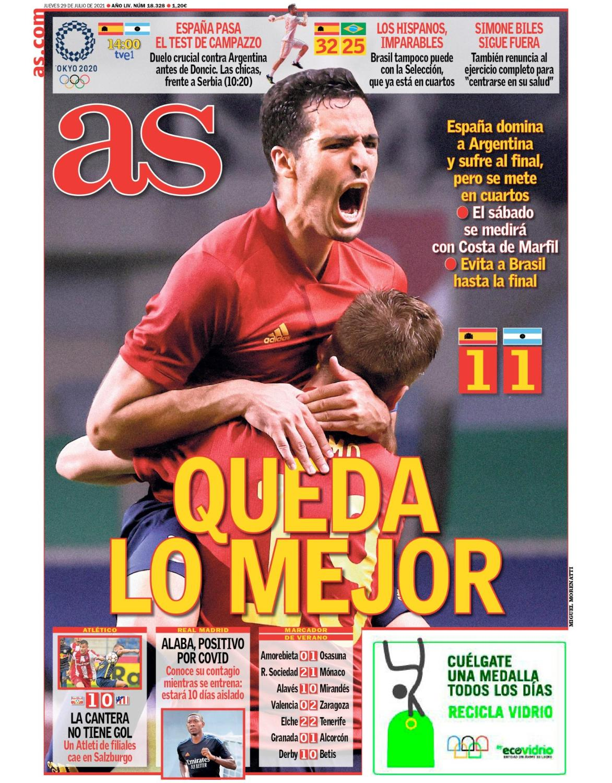 Diario AS 29.7.2021 | Últimas Noticias Futbol Mundial