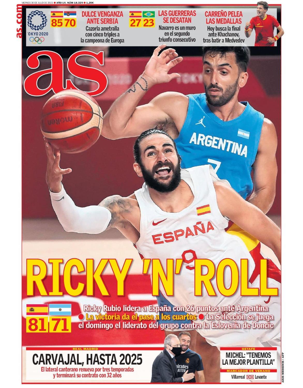 Diario AS 30.7.2021 | Últimas Noticias Futbol Mundial