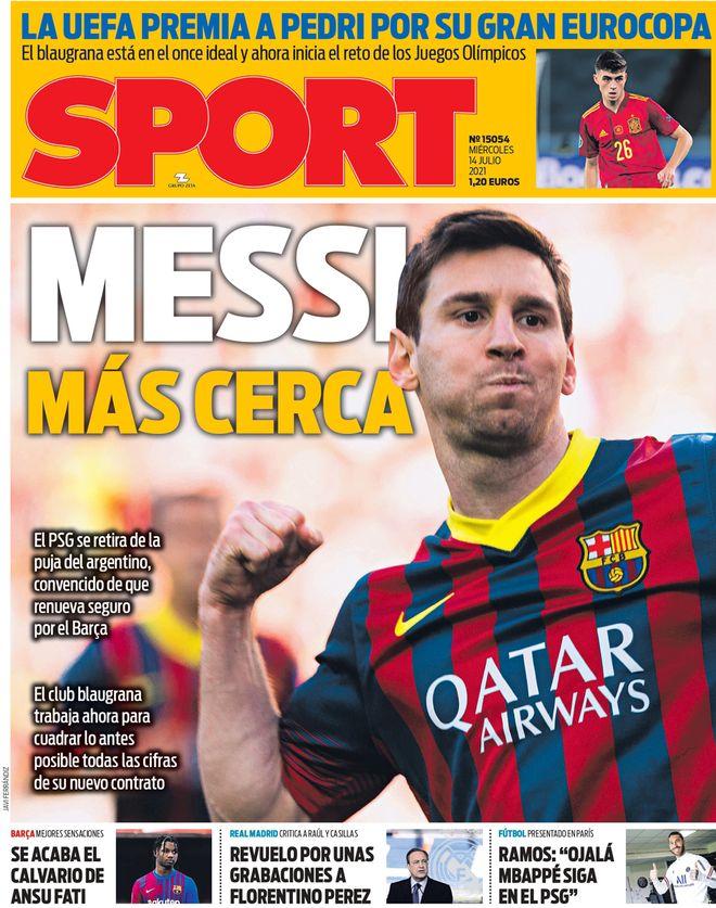 Diario Sport 14.7.2021 | Últimas Noticias Futbol Mundial