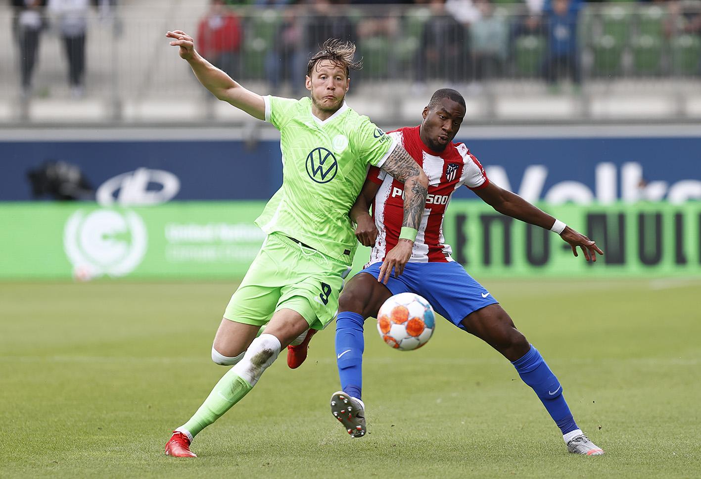 Atletico Madrid battle back to secure 2-1 preseason win at Wolfsburg