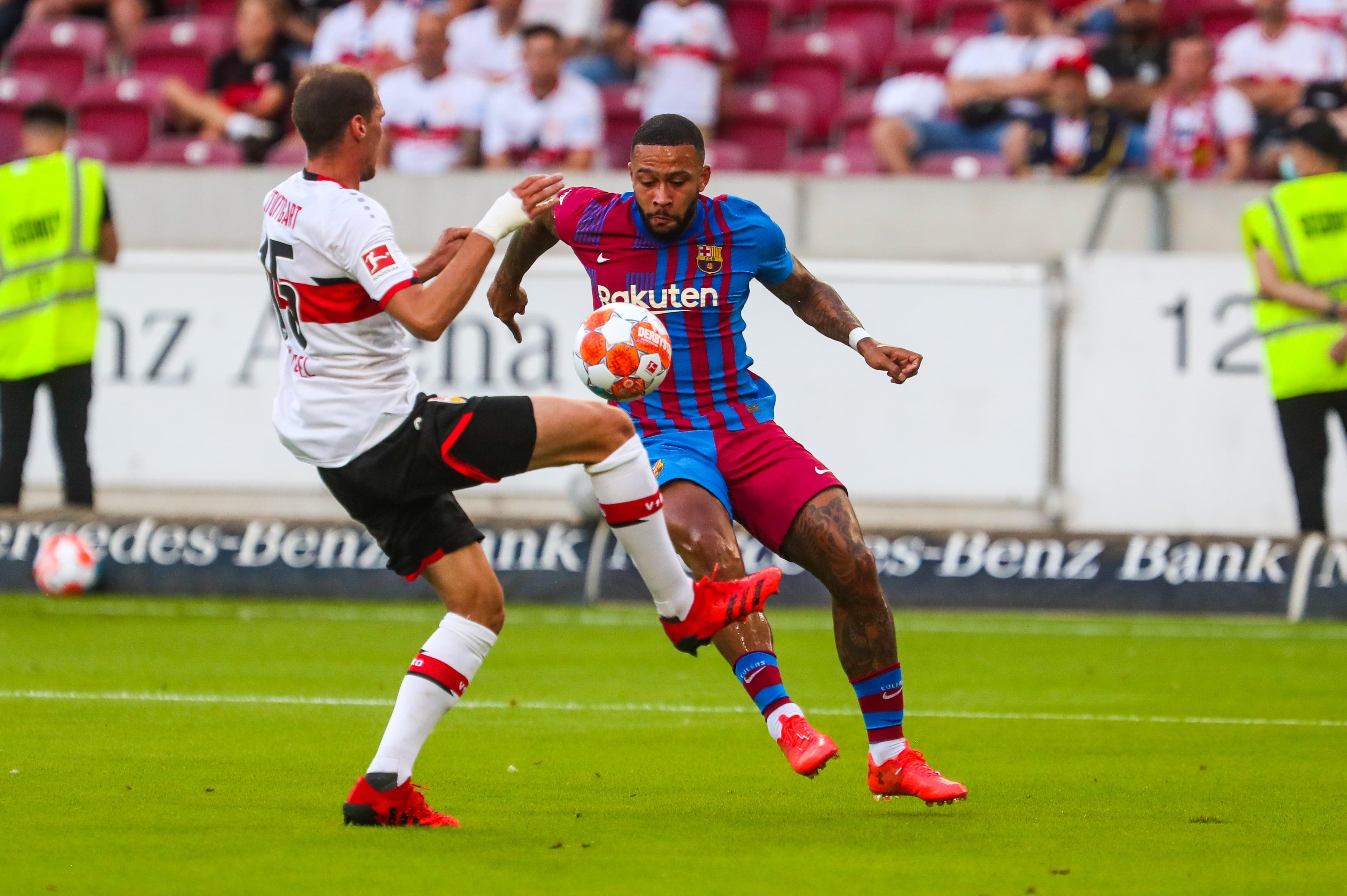 Spanish football evening headlines: Memphis inspires Barcelona to VfB Stuttgart, Atletico edge past Wolfsburg and Pique backs Messi