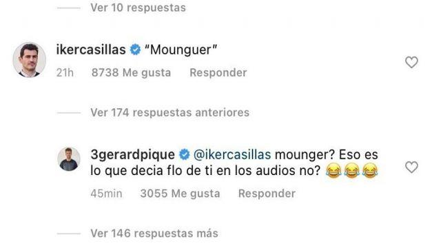 Gerard Piqué e Iker Casillas2