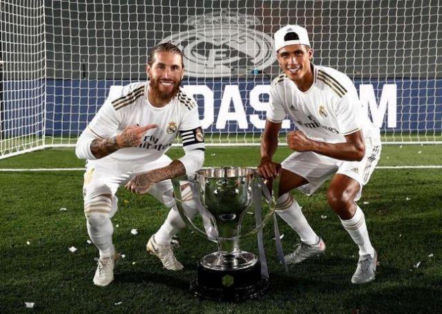 Sergio Ramos and Raphael Varane   Últimas Noticias Futbol Mundial