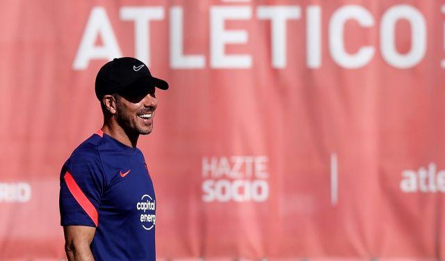 Siego Simeone del Atlético de Madrid