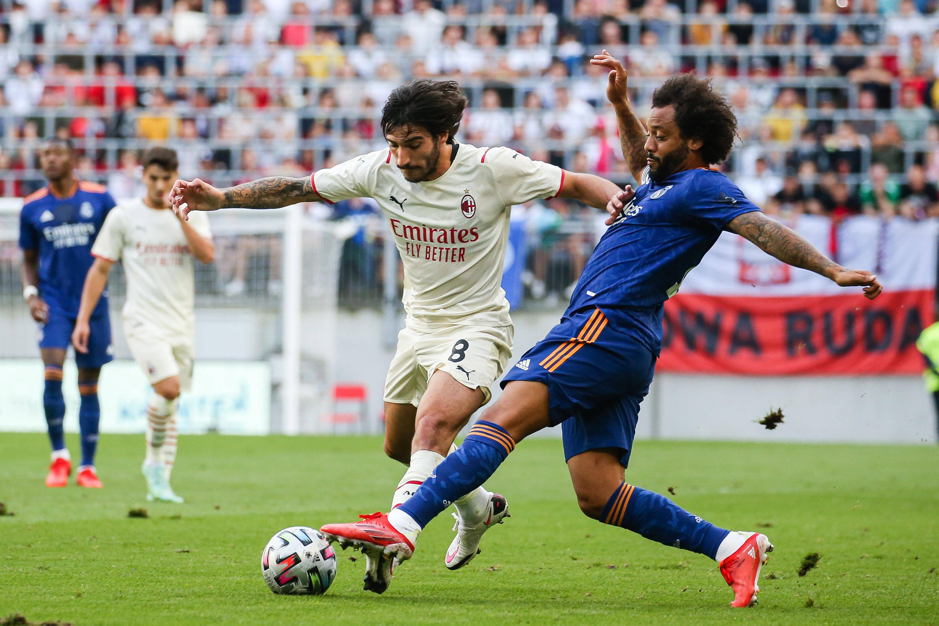 Real Madrid draw with AC Milan in final preseason clash