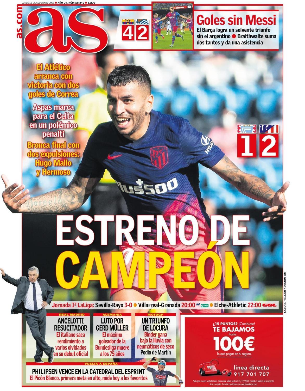 AS16088 | Últimas Noticias Futbol Mundial