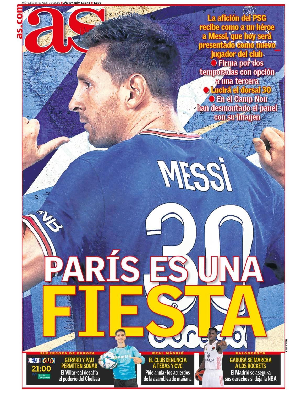 Diario AS 11.8.2021 | Últimas Noticias Futbol Mundial