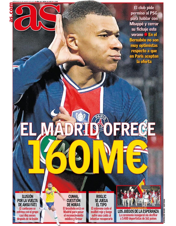 Diario AS 24.8.2021 | Últimas Noticias Futbol Mundial