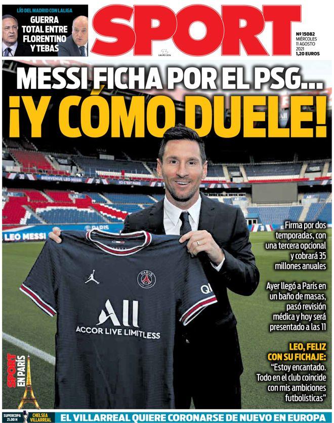 Diario Sport 11.8.2021 | Últimas Noticias Futbol Mundial