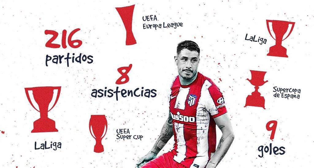Jose Maria Gimenez renews with Atletico Madrid until 2025