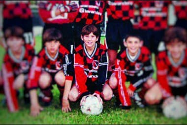 Lionel Messi scored 234 goals for Newell's Old Boys between the ages of seven and 12