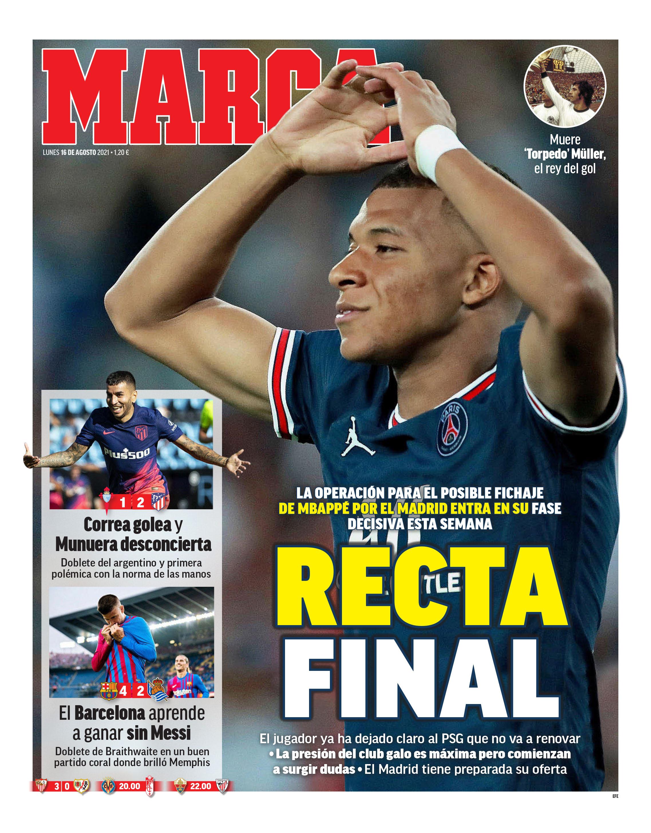 Marca16088 | Últimas Noticias Futbol Mundial