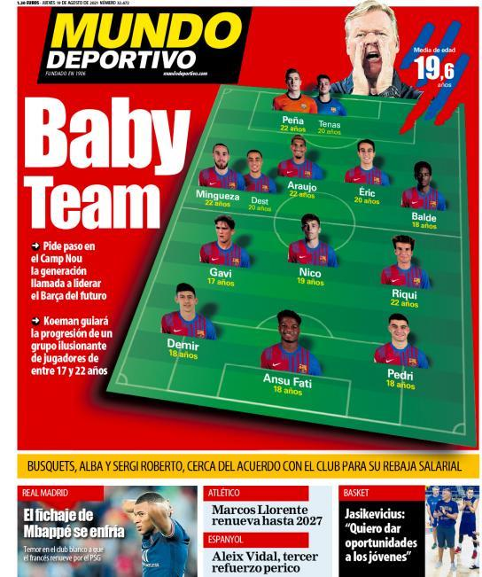 Mundo Deportivo2 19.8.2021   Últimas Noticias Futbol Mundial