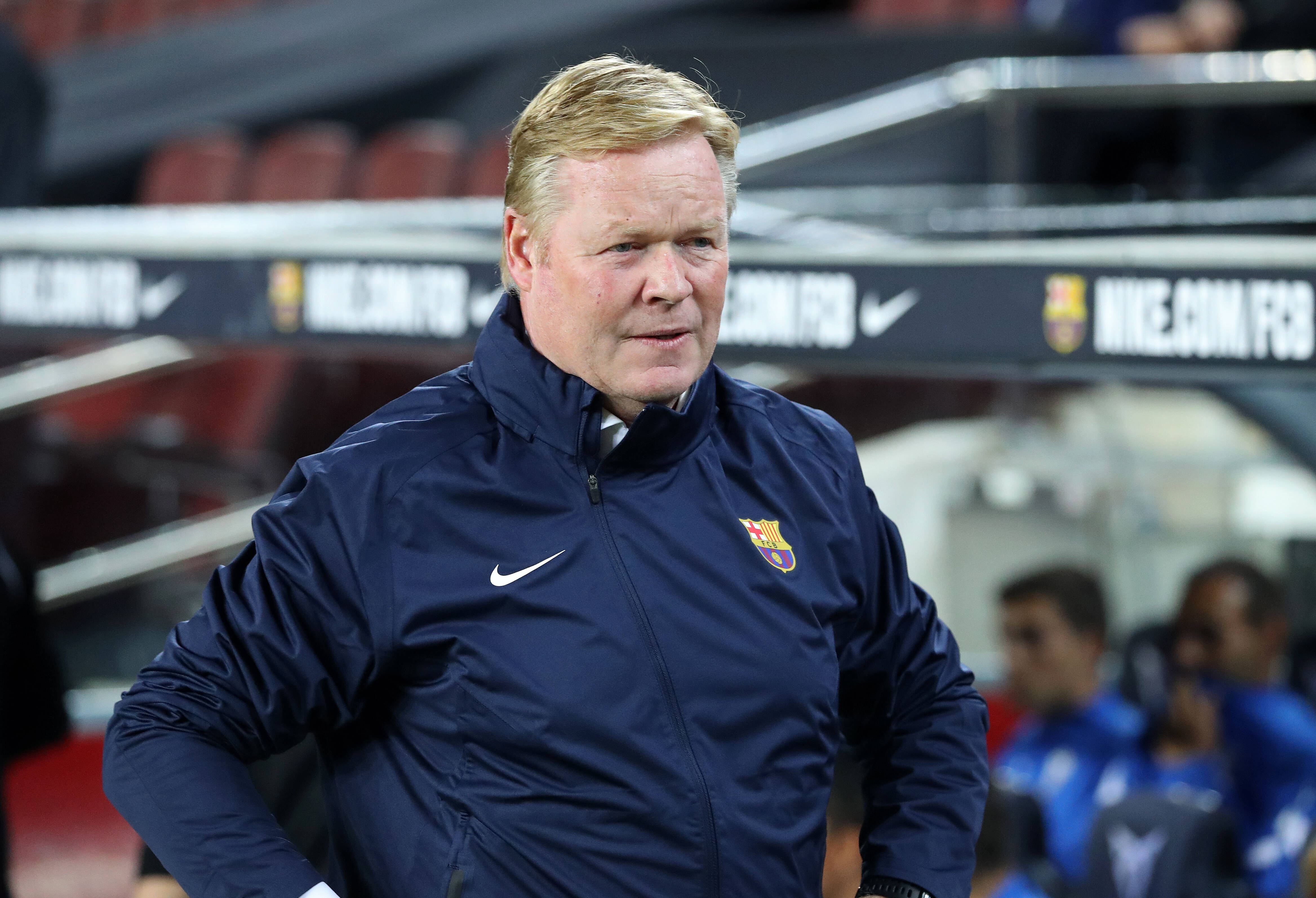 Ronald Koeman hoping for a full house for El Clasico on Sunday afternoon