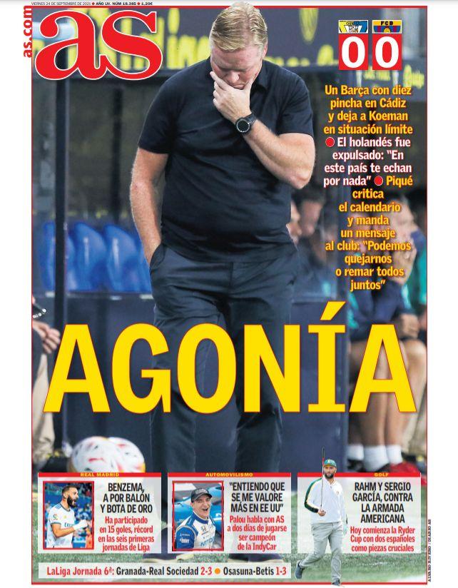 Diario AS 24.9.2021 | Últimas Noticias Futbol Mundial