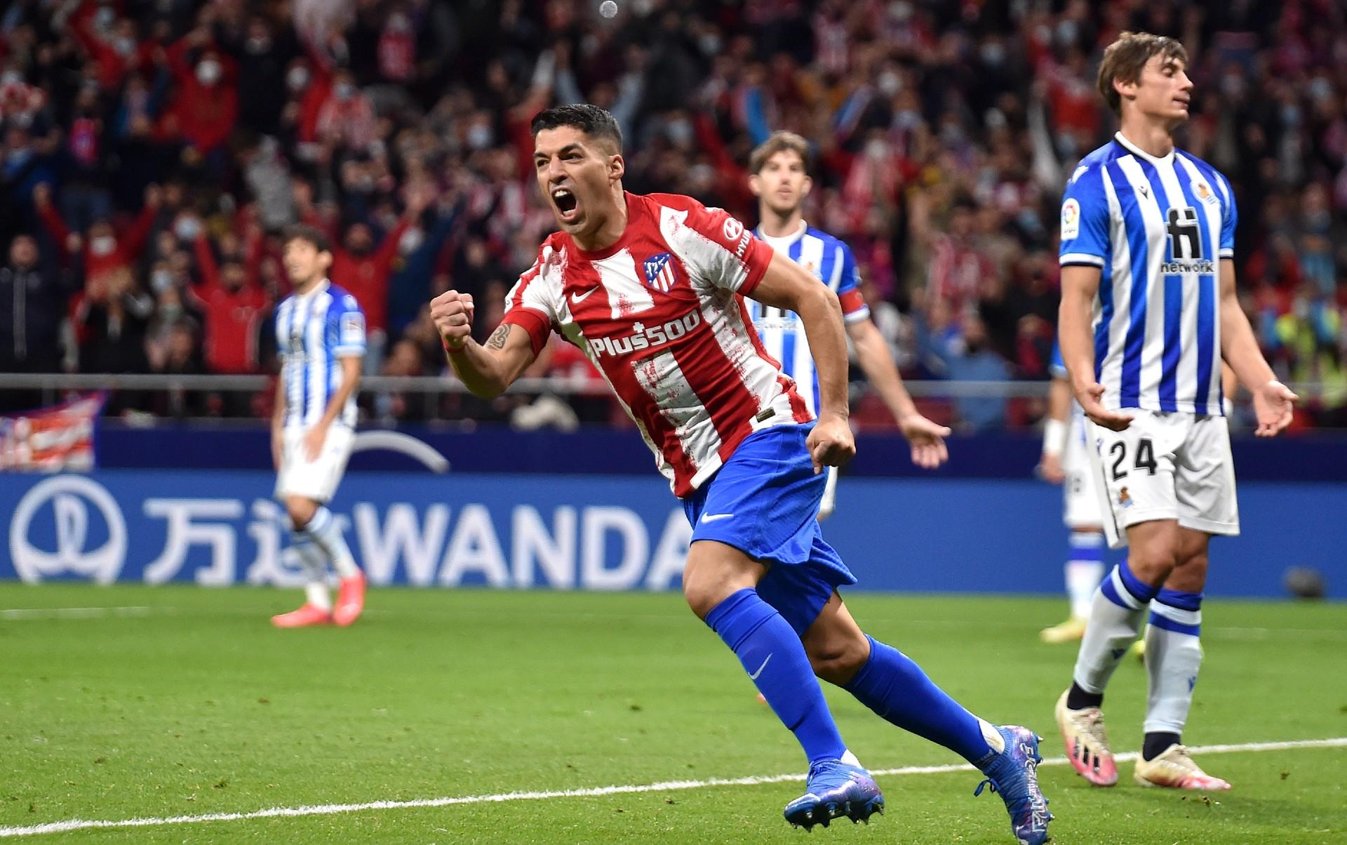 Luis Suarez rescues Atletico Madrid draw against Real Sociedad