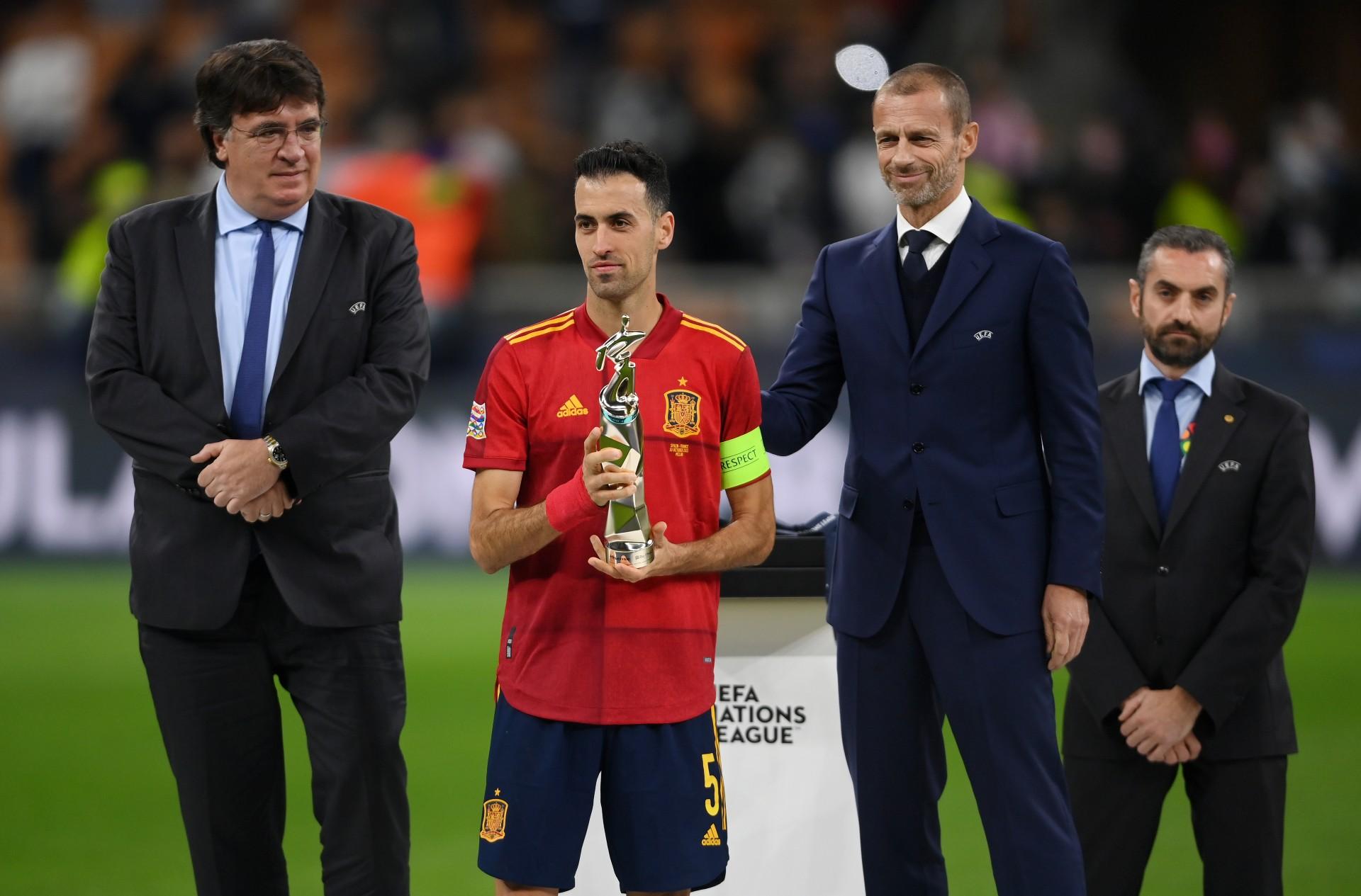 Sergio Busquets: Kylian Mbappe's winner was offside - Football Espana